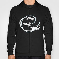 Aerobatic planes | White Vapor trails Hoody