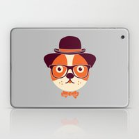 Hipster Dog Laptop & iPad Skin