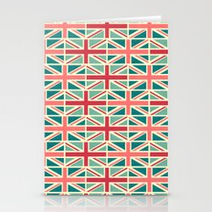 British/UK Flag Pattern Stationery Cards