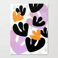 Wild tulips 3 Canvas Print