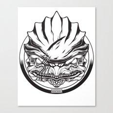 Mass Effect. Urdnot Wrex Canvas Print