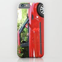 Yorkie Driving iPhone 6 Slim Case