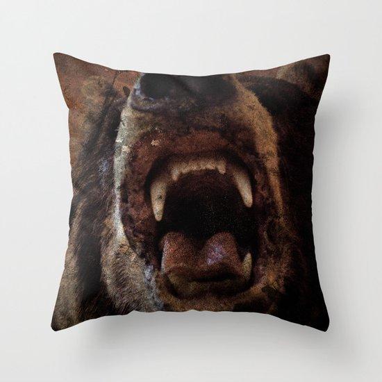 Bear! Throw Pillow