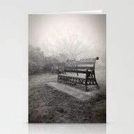 Stationery Cards featuring Throne Of The Fog Queen by Pete Edmunds