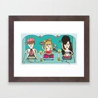 Idol Worship Framed Art Print