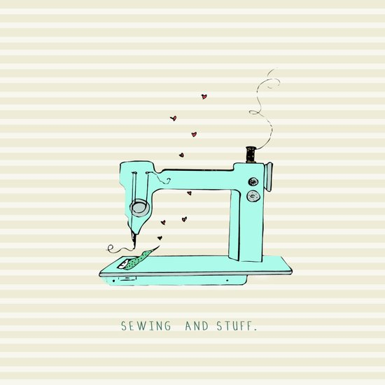 sew and stuff... Canvas Print