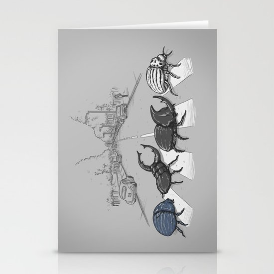 The Beetles Stationery Card