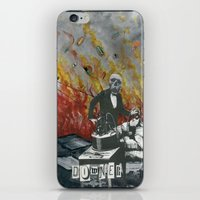 Complimentary Anesthetics amidst firebomb and spiritual tranquilizer raid. iPhone & iPod Skin