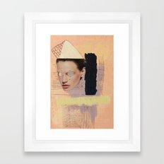 A Fine Line Between Framed Art Print