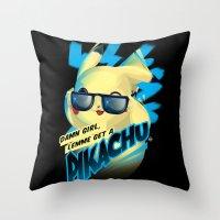 Lemme Get A... Throw Pillow