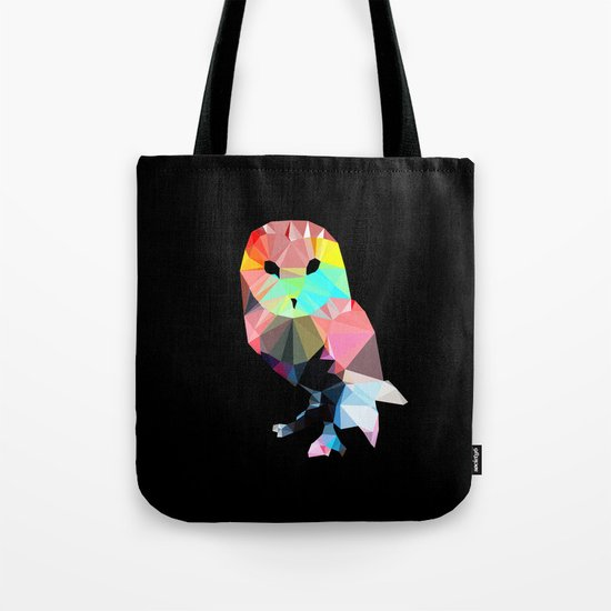 Crystal Owl Tote Bag