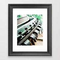 Remnant Of Mt. Lowe Rail… Framed Art Print