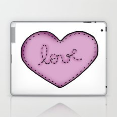 Love in your heart. Laptop & iPad Skin