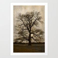 A grey day Art Print