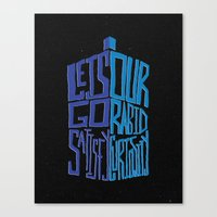 Let's Go Satisfy Our Rab… Canvas Print
