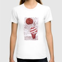 greed Womens Fitted Tee White SMALL