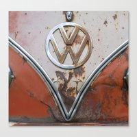 Rusty VW Canvas Print