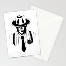 the gangster way Stationery Cards