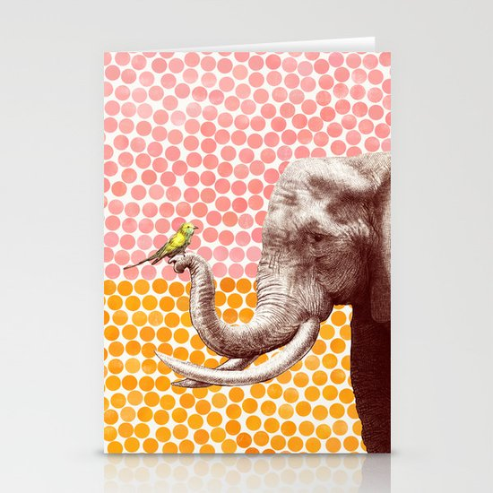 New Friends 2 by Eric Fan and Garima Dhawan Stationery Card