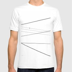 Wired Mens Fitted Tee White SMALL