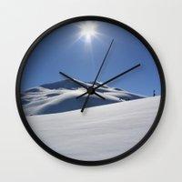 Tincan Peak Wall Clock