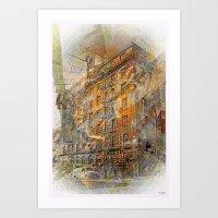 Building A Magic Moment … Art Print