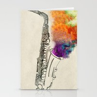 SAX Stationery Cards