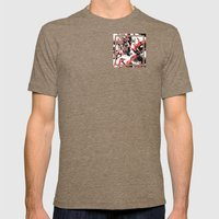 MTHSN_RED_ID Mens Fitted Tee Tri-Coffee SMALL