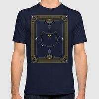 Luna Mens Fitted Tee Navy SMALL