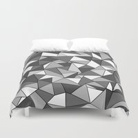 Ab Collide Grey Duvet Cover