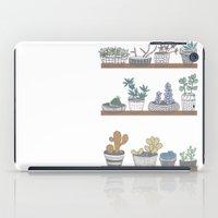 Quirky Succulents iPad Case