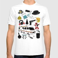 Artifacts: Breaking Bad Mens Fitted Tee White SMALL
