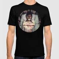 Studied And Observed  Mens Fitted Tee Black SMALL
