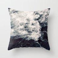 Rush Of Waves Throw Pillow