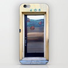 405 Sea Door iPhone & iPod Skin