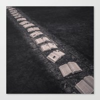 Path To Knowledge Canvas Print