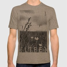 Life Mens Fitted Tee Tri-Coffee SMALL