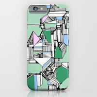 iPhone & iPod Case featuring Tea Sandwich City by feliciadouglass