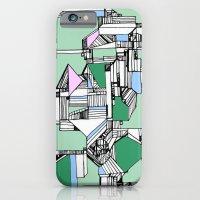 iPhone & iPod Case featuring Tea Sandwich City by feliciadouglass