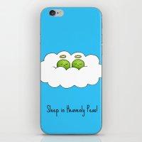 Sleep In Heavenly Peas! iPhone & iPod Skin