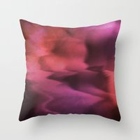 Lost in Waves Throw Pillow