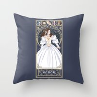Sarah Nouveau - Labyrinth Throw Pillow