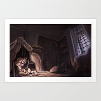 Where Somebody Waits For Me Art Print