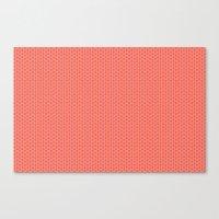 U16 - knit pink Canvas Print