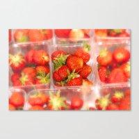 Strawberrys Canvas Print