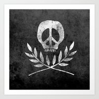 Peace Is Death Art Print