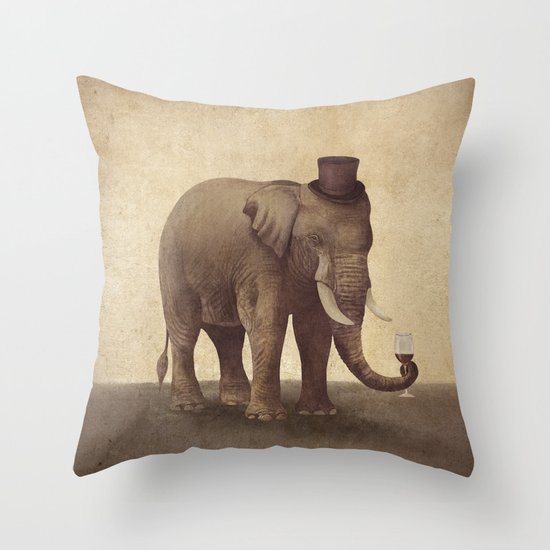 A Fine Vintage  Throw Pillow