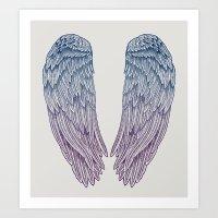 Angel Wings Art Print
