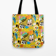 Weird Stuff Bro Tote Bag