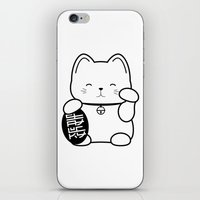Stay Lucky WHT iPhone & iPod Skin